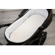Materacyk do wózka biały 75x35 cm - pikowany Sensillo